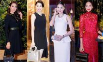 Thời trang đi sự kiện đẳng cấp của Phạm Hương sau khi đăng quang