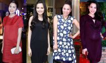 Mê mẩn ngắm phong cách thời trang bầu bí của sao Việt