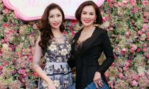 Hoa hậu Lam Cúc đẹp rạng ngời bên Á hậu Phương Lê trong đêm hội ngộ