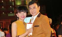 Vợ chồng diễn viên Hoàng  Phúc 'dính như sam' tham dự ra mắt phim