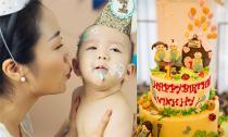 Ốc Thanh Vân tổ chức tiệc thôi nôi cho con trai út