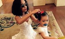Đoan Trang và con gái diện trang phục 'tông xuyệt tông' sành điệu