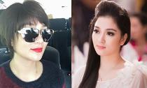 Hoa hậu Nguyễn Thị Huyền xuất hiện với diện mạo khác lạ