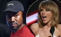 Chồng Kim Kardashian buông lời lẽ tục tĩu với Taylor Swift