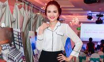 Hoa hậu Diễm Hương chúc mừng Cuscino ra mắt BST 2016