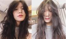 Hoa hậu Thùy Dung tự làm xấu mình khi để đầu bù tóc rối