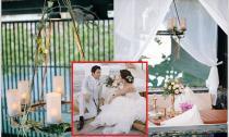 Tiệc cưới lãng mạn tại resort 6 sao của cặp đôi tỷ phú trẻ Thái Lan