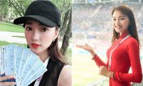'Tất tần tật' thông tin về Á khôi Ngọc Nữ: Cô gái sang tận Nga để cổ vũ World Cup 2018
