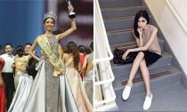 Tân Hoa hậu Hòa bình Indonesia 2018 bị chê gầy, nhan sắc không nổi bật