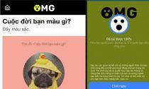 Có thể bị đánh cắp tài khoản khi chơi game OMG - Cuộc đời bạn màu gì?...