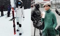 Trước thềm năm mới, Lan Khuê cùng chồng doanh nhân tận hưởng kỳ nghỉ ở Canada