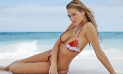 Siêu mẫu 9x Kate Upton gợi cảm với bikini