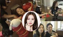 Kim Tae Hee vui đùa nhắng nhít bên người thân
