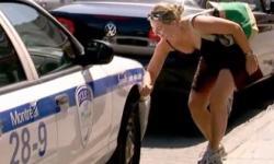Clip hài: Chọc thủng lốp xe cảnh sát