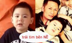 Video con trai Bằng Kiều ngọng líu ngọng lô khi nói về bố