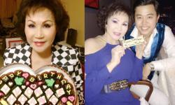 Vũ Hoàng Việt khoe ảnh đẹp, trẻ trung của người yêu tỷ phú trong dịp sinh nhật