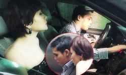 """Bắt gặp Dương Yến Ngọc lần đầu cùng chồng đi dự tiệc sau """"bão scandal"""""""