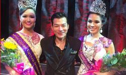 Trần Bảo Sơn trao vương miện hoa hậu 'Miss Globe Vietnam' cho Victoria Thúy Vy