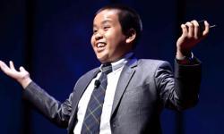 Thần đồng Đỗ Nhật Nam thuyết trình tại Mỹ gây kinh ngạc