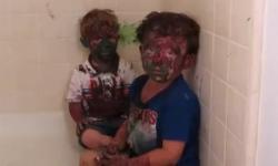 'Đau ruột' với hai cậu nhóc siêu quậy