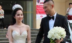 Doãn Tuấn 'phụng phịu' đón cô dâu Quỳnh Nga về dinh