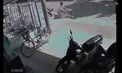 Không thể nhịn cười với tai nạn của anh chàng đi xe đạp