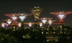 Dạo quanh Đảo quốc sư tử Singapore qua video time-lapse