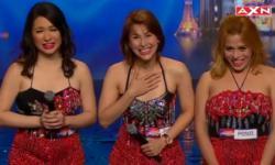 Ba cô gái hát 'giọng nam' gây sốt Asia's Got Talent