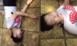 Cô gái bị ngất ở công viên nước Hồ Tây