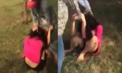Nữ sinh 'điên cuồng' đánh bạn dù đã được xin tha