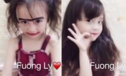 'Hot girl' 5 tuổi với trào lưu 'vịt hóa thiên nga'