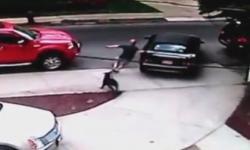 Cậu bé 6 tuổi liều lĩnh lái ô tô của bố
