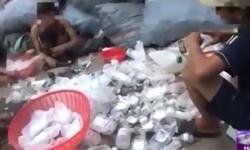 'Kinh hoàng' rác thải y tế tái chế thành... ống hút, hộp đựng sữa chua
