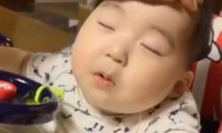Bố ơi! Con buồn ngủ lắm rồi