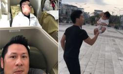 Sao Việt 26/3/2019: Tuấn Hưng bị Bằng Kiều 'dìm hàng' khi ngủ trên máy bay, Quốc Nghiệp khiến bà xã thót tim khi cho con gái 3 tháng tuổi biểu diễn xiếc