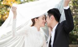 Trọn bộ ảnh cưới lãng mạn của Lê Hà The Face và hôn phu điển trai