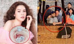 Sao Việt 20/4/2019: 'Hoa hậu rửa chân cho chồng' được ông xã tặng 3 chiếc nhẫn kim cương, chồng cũ Hồng Nhung tình cảm bên vợ mới