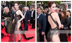 Ngọc Trinh 'mặc cũng như không' khiến dân mạng Trung Quốc thắc mắc, sốc nhất là biệt danh nhiếp ảnh quốc tế gọi cô