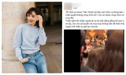 Từ chối chụp ảnh cùng khán giả lớn tuổi khi đang bán đĩa, Hari Won bị chỉ trích giả tạo, chảnh choẹ