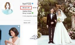 Động thái đầu tiên của Song Hye Kyo sau khi chính thức ly hôn khiến nhiều người phải thốt lên hai từ 'tuyệt tình'