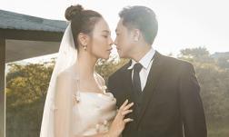 Trọn bộ ảnh cưới ngọt ngào của Đàm Thu Trang và Cường Đô la, cô dâu thay đến 8 trang phục khác nhau