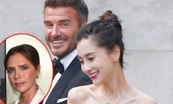 Victoria Beckham ghen tuông lồng lộn sau khi xem ảnh Angelababy làm 'cô dâu' của David Beckham?