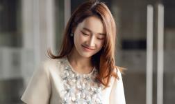 Diễn viên Nhã Phương đẹp thanh thoát, diện đầm trăm triệu làm ban giám khảo
