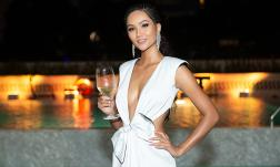 Hoa hậu H'Hen Niê tiếp tục hoá gái Tây với phong cách hoang dã