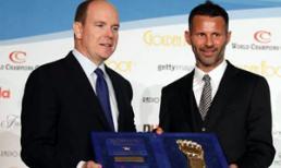 Ryan Giggs nhận giải thưởng