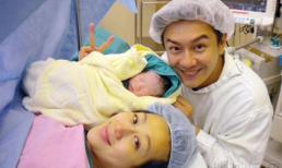 Trần Hạo Dân đón con gái đầu lòng