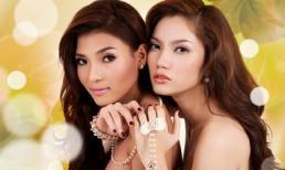 2 kiều nữ của điện ảnh Việt khoe vai trần cùng trang sức