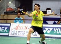 Giải cầu lông Nhật Bản mở rộng 2011: Tiến Minh bất ngờ ngã ngựa