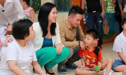 Hồng Mơ lặn lội về Đồng Nai làm từ thiện