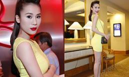 Thái Hà diện váy ngắn khoe chân dài nóng bỏng